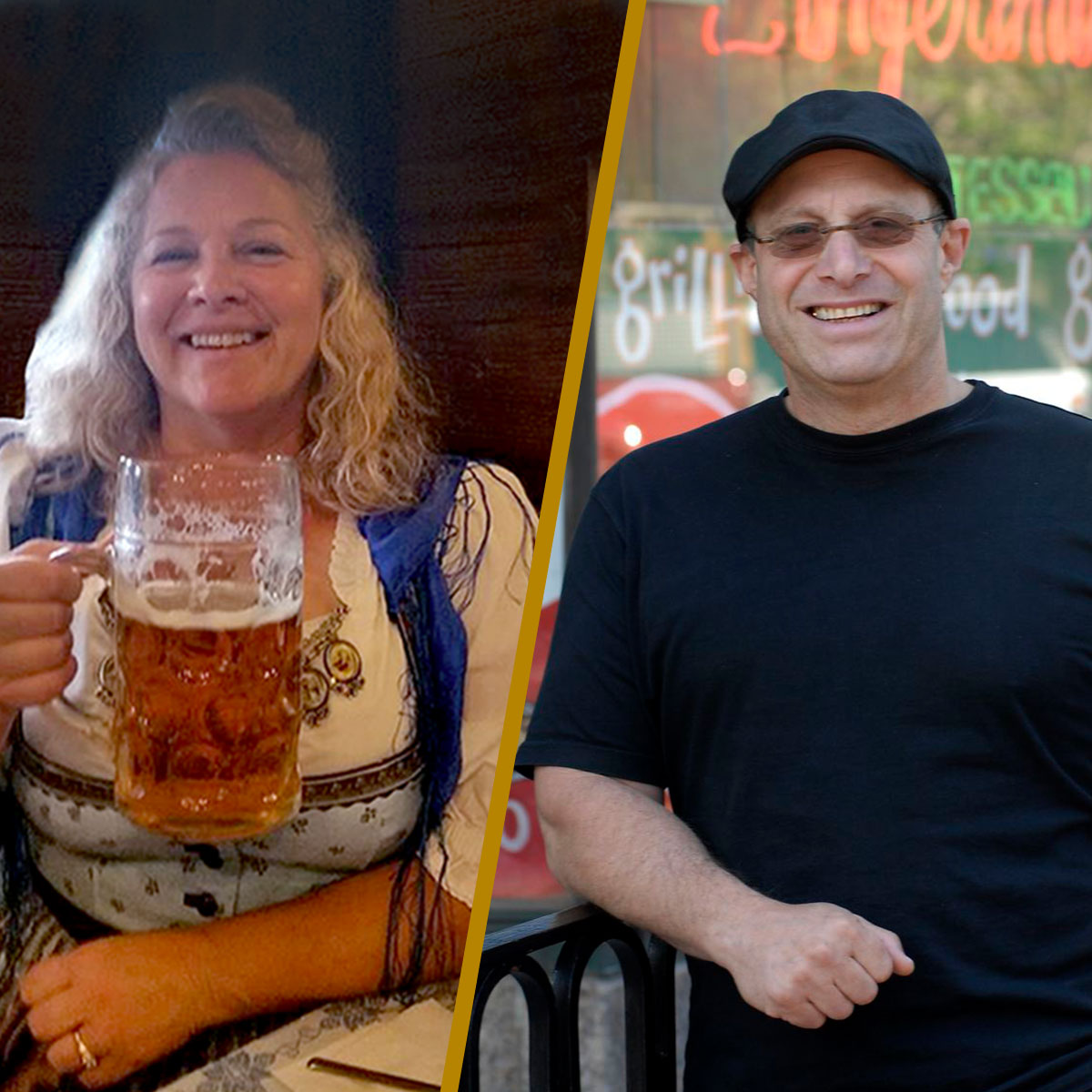 Deb Carey and Paul Saginaw